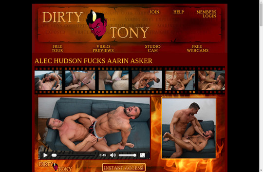 Fresh gay 1 dirty tony password