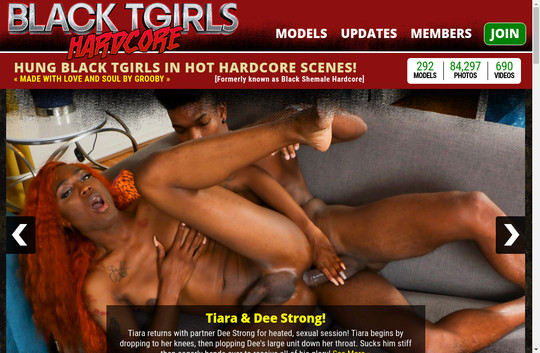 Black T Girls Hardcore pass 2018 June