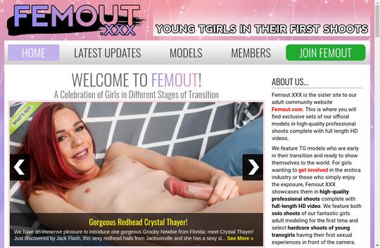 Femoutxxx login 2018 June